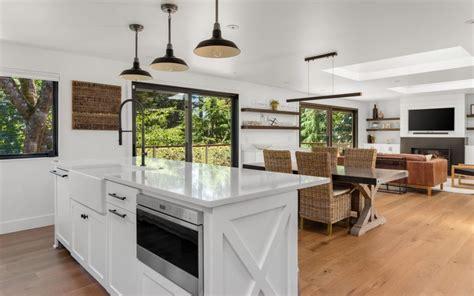 open concept kitchens  granite countertops granite
