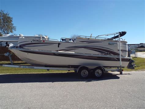 22 Deck Boat by Carolina Skiff 22 Deck Boat Boats For Sale