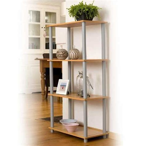 scaffali cucina libreria scaffale in legno 4 ripiani 60 x 111 x 29 cm