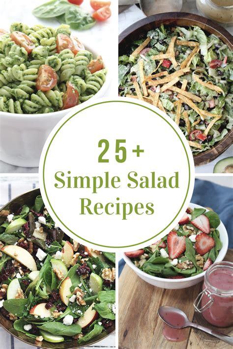 simple salad recipes  idea room