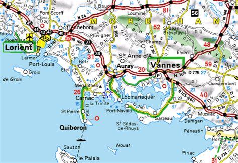 Carte Michelin Des Golfs En by Infos Sur 187 Carte Du Morbihan Detaillee 187 Vacances Arts