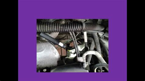 ford focus speed sensor location  removal youtube