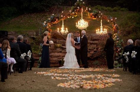 a fall outdoor wedding styleblueprint