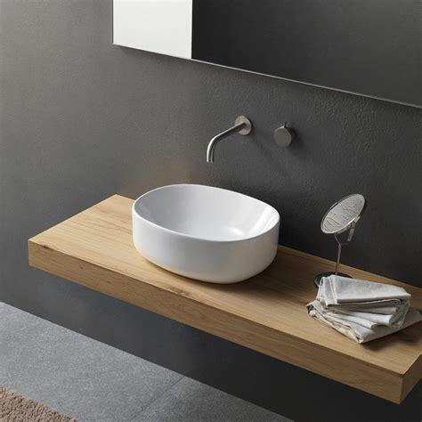 Bagno Lavabo lavabo bagno da appoggio in ceramica 50 by novello