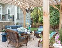 patio decor ideas Patio Decorating Ideas: Our New Outdoor Room - Atta Girl Says