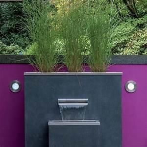 Brunnen Garten Modern : garten im quadrat puristischer gartenbrunnen komplett ~ Michelbontemps.com Haus und Dekorationen