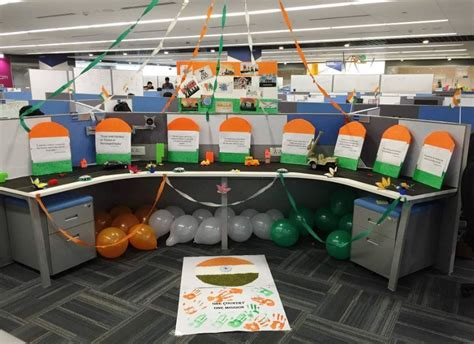 Cubicle Decoration Themes For Indian Independence Day by Best Office Decoration Ideas For 15th Aug Easy Rangoli