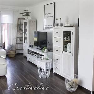 Holzmöbel Streichen Shabby Chic : kreidefarbe f r s wohnzimmer creativlive ~ Bigdaddyawards.com Haus und Dekorationen