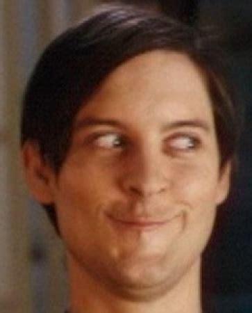 Meme Tobey Maguire - 20 hilarious celebrity derp shots