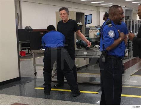tsa help desk look at these photos of christopher walken at the airport