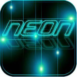 App Neon Tech light Theme apk for kindle fire