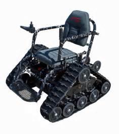 All Terrain Wheel Chair action trackchair is an all terrain wheelchair