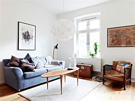 Great Interior By Mixing The With The New by Mixture Of And New Furniture In A Swedish Apartment