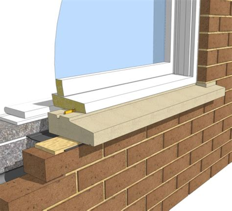 External Window Cill by One Brick Cill