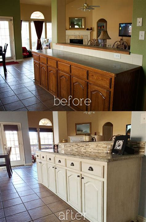Refinishing Glazed Kitchen Cabinets   TheyDesign.net