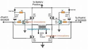 Sg3525 Full Bridge Inverter Circuit