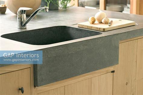 kitchen sinks trinidad and tobago gap interiors modern stone kitchen sink image no
