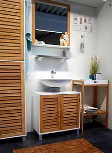 Badezimmer Regal Bambus : badregal bad hochschrank 190cm wandschrank bambus holz ~ Whattoseeinmadrid.com Haus und Dekorationen