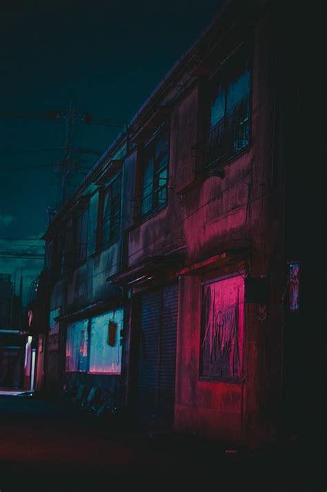 untitled street photography neon nights night