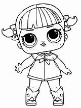 Lol Coloring Doll Pages Print Omg Dolls Male Popular sketch template