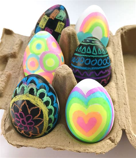 fun  kid friendly easter egg decorating ideas ooly