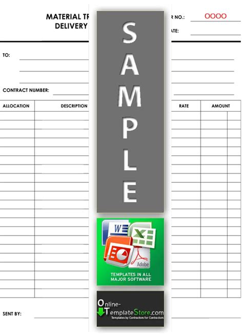 material template project management forms construction templates
