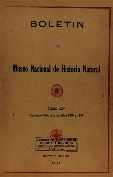 Calaméo Tomo Boletín del museo nacional de Historia Natural