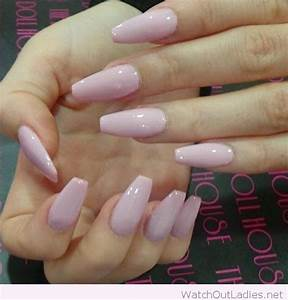 Image Gallery light purple nails