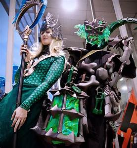 Nami and Thresh by Rose-Cosplay on DeviantArt