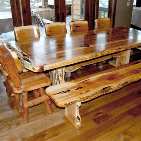 30323 log dining table best 17 best images about log furniture on western