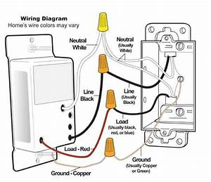 Question About Neutral Wire Through Wall Switch