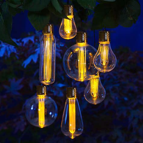Solar Light Bulbs by Edison Bulb Light Garland By Lilly