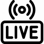 Streaming Icon Stream Icons Webcast Worship Streams