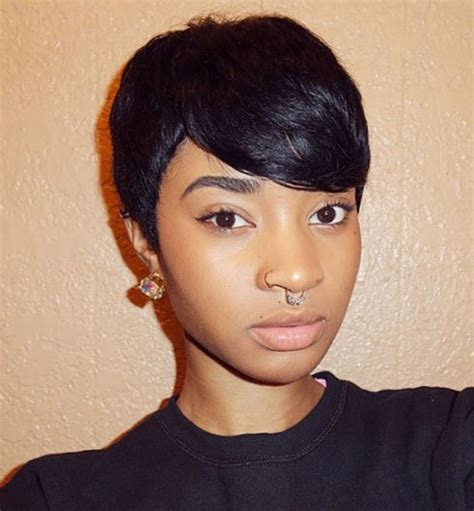 cute short hairstyles for black women african american