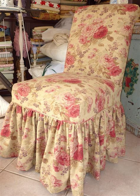 shabby chic dining chair slipcovers shabby chic slipcovers for loveseats cottage by design