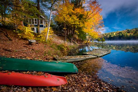 Canoes Vermont by Vermont Donald Reese Photography