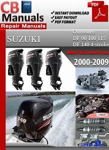 Digital Service Manuals  Suzuki Outboard Df 90 100 115 Df