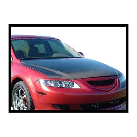 Carbon Hood Mazda 6 '02'08 (without Air Intake) Street