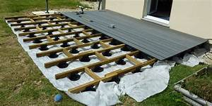 Planche De Bois Brut Pas Cher : faire une terrasse pas cher ~ Dailycaller-alerts.com Idées de Décoration