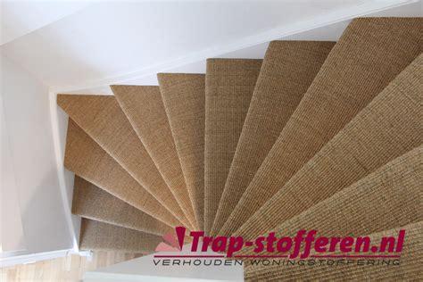 trap bekleding trap bekleden met sisal door trap stofferen nl