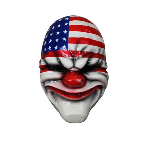Payday 2 Halloween Masks by Payday 2 Face Mask Dallas Payday 2 Products And Dallas