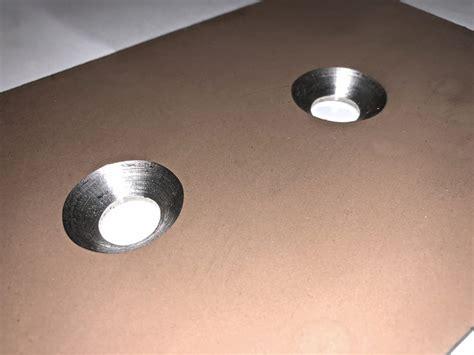countersunk holes  sheet metal cs fabrications