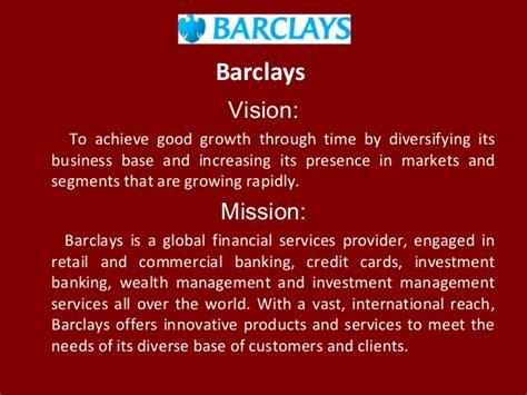 barclays vision  achieve good