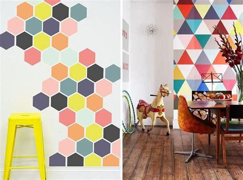 #figuras #geometricas en #muros #wall #paint #hexágonos