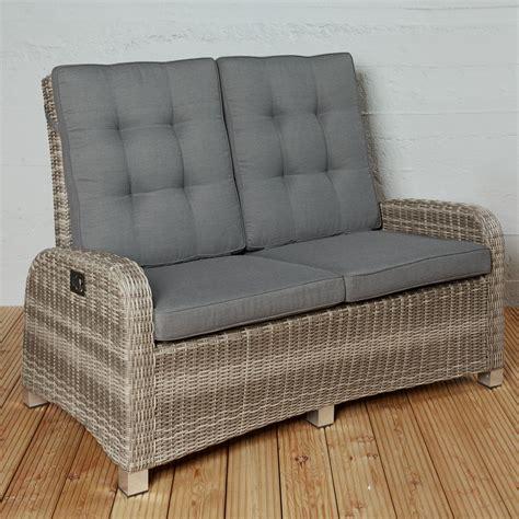 gartenmöbel 2 sitzer 2 sitzer gartensofa ibiza chagner loungesofa sofa