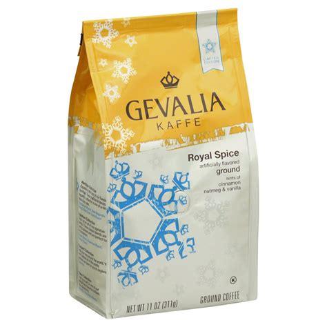 Gevalia, kaffe coffee, chocolate mocha, ground, 12oz bag (pack of 2) $109.03 $ 109. Gevalia Kaffe Ground Royal Spice Medium/Dark Roast Coffee - Shop Coffee at H-E-B