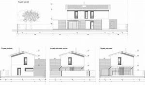 Plan Facade Maison : plan maison 9m facade de newsindo co design simple 36522 ~ Melissatoandfro.com Idées de Décoration