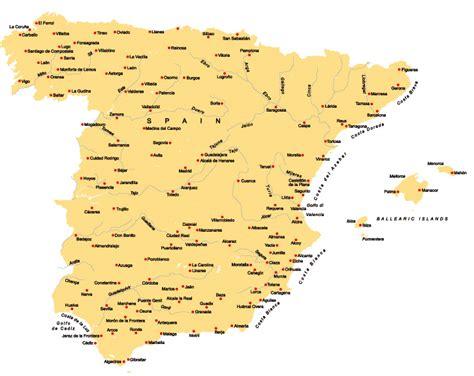 kueste spanien karte hanzeontwerpfabriek