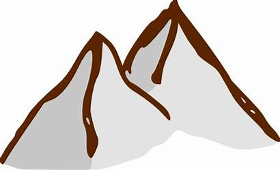 Mountain Map Clip Rpg Clipart Clker Elements