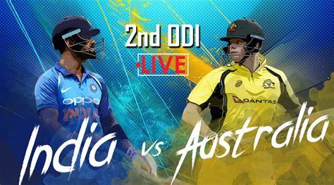 Live cricket score, live score updates of international, domestic and leagues matches. India vs Australia Live Cricket Score 2nd ODI, Eden ...